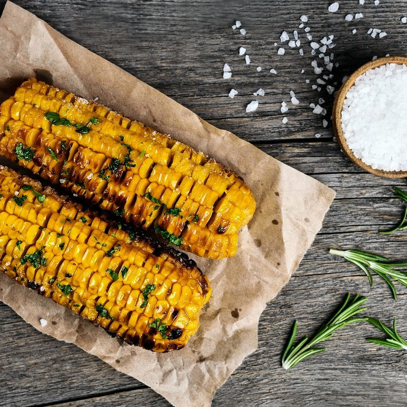 Pellet Grilled Corn On The Cob Green Mountain Grills
